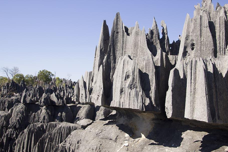 Bosque-de-roca-de-Tsingy-en-Madagascar