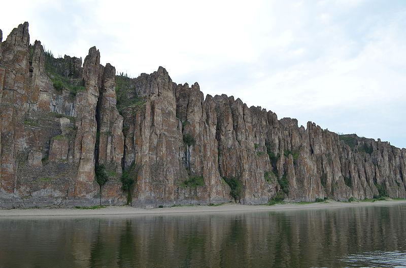 Pilares del Lena en Rusia